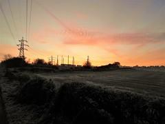 Chilly start the day (kelvin mann) Tags: kirkbyinashfield kirkby ashfield nottinghamshire notts weather frost outdoors