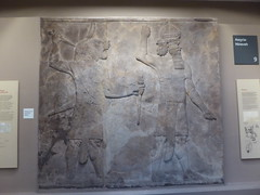 Demon & King (Aidan McRae Thomson) Tags: britishmuseum london relief sculpture assyrian mesopotamia nineveh