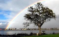 Dunes Apartments (vnelson) Tags: rainbows