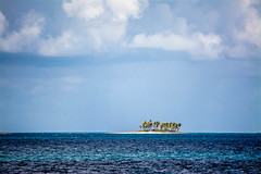 lot for sale?? (-gregg-) Tags: island clouds sky ocean caribbean palm trees