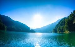 Lake http://ift.tt/2g1cmUG (koizhy) Tags: ifttt 500px lake water sky blue sun light reflection fish eye lens