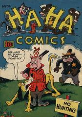Ha Ha 38 (Michael Vance1) Tags: art artist anthology funnyanimals fantasy funny humor comics comicbooks cartoonist goldenage