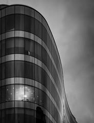 Working late (burnsmeisterj) Tags: olympus omd em1 glasgow office working late light mono monochrome blackandwhite