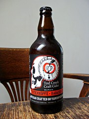 Tod Creek Craft Cider (knightbefore_99) Tags: cider cidre badasscider totenkopf pomme apple todcreek craft bottle tasty delicious cool awesome art victoria bc island
