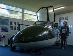 XD425 Vampire, Kinloss (wwshack) Tags: aircraftmuseum kinloss moray morayvia raf royalairforce scotland vampire xd425