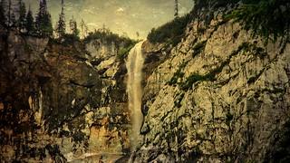 Ehrwald , Wasserfall, 74350/5628