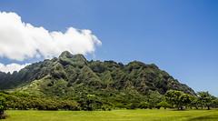 Ahupuaa O Kahana (nclcocco) Tags: trees sky usa clouds canon hawaii oahu july greenery hi hdr 2014 pacificislands kualoaregionalpark 5dmkiii canon5dmarkiii ahupuaaokahanastatepark 5dmarkiii nclcocco nicolacocco