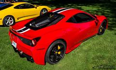 Ferrari 458 Speciale (scott597) Tags: blue columbus ohio red white club america ferrari annual meet speciale fca 2015 458