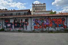 gues - horfé (lepublicnme) Tags: blue sky france graffiti july bleu ciel pal gues tomek pantin 2015 stationservice horfé horfée horphé horphée palcrew lastationhorsservice