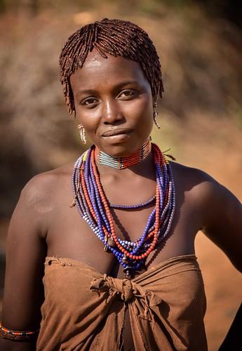 Woman, Ebore Tribe, Ethiopia