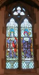 St Mark Worsley. Glass by Powells (Fiona Moate) Tags: salford georgegilbertscott victorianchurch earlofellesmere stmarkworsley