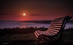 Breaking Dawn (bruzos photography) Tags: sun sol water landscape bank galicia 1855 lugo ribadeo breakingdawn fujiflim xt1 islapancha