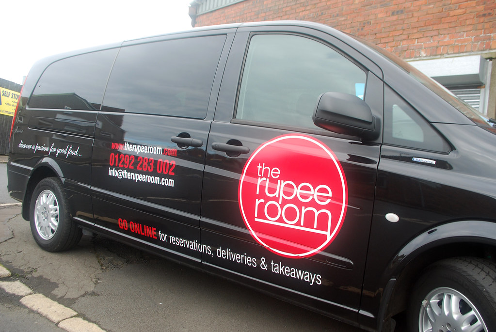 The rupee room owen kerr signs tags uk signs car scotland graphics edinburgh