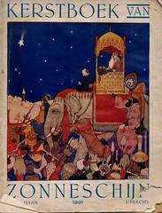 Zonneschijn kerstboek 1931 cover Anton Pieck (janwillemsen) Tags: christmas 1931 magazinecover antonpieck magazineillustration
