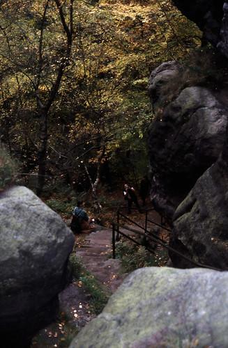 """Elbsandsteingebirge (116) Pfaffenstein Nadelöhr • <a style=""""font-size:0.8em;"""" href=""""http://www.flickr.com/photos/69570948@N04/22096620821/"""" target=""""_blank"""">View on Flickr</a>"""