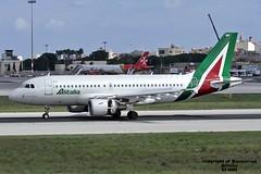 EI-IMH LMML 234-10-2015 (Burmarrad) Tags: roma cn aircraft location airline da airbus leonardo registration alitalia 2101 a319112 lmml eiimh 234102015