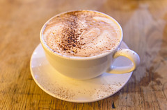 Coffee (Javmorcas) Tags: coffee bristol nikon dof artistic latte ff