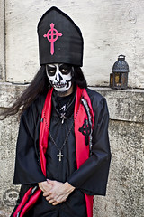 Ashes of the Damned (JoDi War) Tags: red pope black church monster metal dark landscape dead religious photography cross robe ghost longhair evil holy staff horror demon devil ritual priest nightmare demonic possession satanic possessed