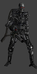 T600 Minigun Test (TacoNBanana Roleplay) Tags: terminator roleplay t600 taconbanana