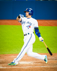 #Cometogther @BlueJays: Donaldson batting after contact (b.m.a.n.) Tags: toronto nikon baseball champs center east josh american bluejays rogers league mlb donaldson torontobluejays 2015 rogerscenter d610 americanleagueeast joshdonaldson nikond610 2015torontobluejays americanleagueeastchamps