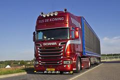 "IMG_7371Scania R Streamline Topline "" TIJS DE KONING "" (NL) (magicv8m) Tags: transport r nl trans scania streamline lkw tir topline tijsdekoning"