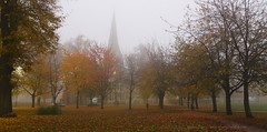_C0A5069REWS Dawn Spectrum, Jon Perry - Enlightenshade, 2-11-15 zaq (Jon Perry - Enlightenshade) Tags: park autumn trees london fall fog dawn foggy autumnleaves chiswick w4 inthepark treesinfog jonperry foggydawn enlightenshade arranginglightcom