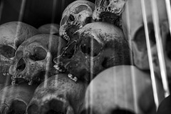 Killing Field 6 (Dave Kehs) Tags: bw white black field dave canon skulls cambodian killing shit 5d bone depressing kehs 1635 bingham