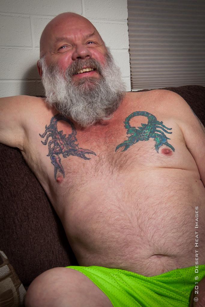 Hairy daddy gay bear