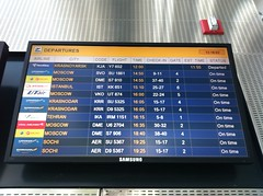 Flight Board of Yerevan's Zvartnots Airport,Armenia (Armenian_Spotter) Tags: airplane airport time aviation board flight international armenia airways airlines yerevan aeroport armenian caucasia evn iata zvartnots