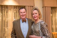 LACO board chairman Gene Shutler and Kitty Keck