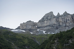 Tschingelhörner mit Martinsloch, Glarus Süd, Kanton Glarus