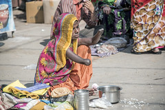 INDIA7453 (Glenn Losack, M.D.) Tags: street people india portraits photography delhi muslim islam poor photojournalism buddhism impoverished flip flops local pushkar hindu scenics handicapped deformed beggars amputated mutilated glennlosack losack glosack dahlits
