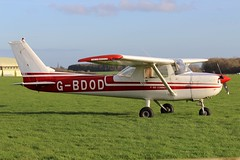 Private - Reims-Cessna F150M G-BDOD @ Kemble (Shaun Grist) Tags: airport aircraft aviation airline reims cessna aeroplanes kemble avgeek gbdod f150m cotswoldairport