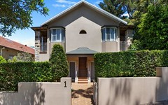 1/1 Hamilton Street, Rose Bay NSW