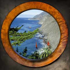 Big Sur Portal (Steve Corey) Tags: ocean sea bigsur hwy1 raggedpoint ruggedcoast viewfromportal