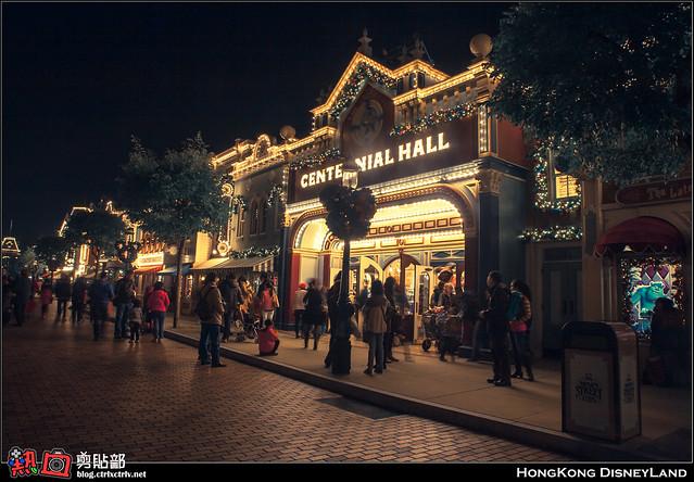 [遊記] 香港迪士尼聖誕夜