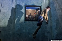 Apnea Challange - Freediving (Petr Kleiner) Tags: freediving diving fly swimingpool man people watch fujifilmx100
