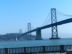 Oakland Bay Bridge (frankbehrens) Tags: sanfrancisco california kalifornien oaklandbaybridge