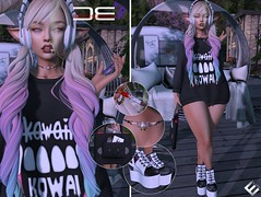 Detached - She might make my nostrils bleed (Ai Venus Clarrington) Tags: sl secondlife kawaii fashion style linden labs elf blog tumblr mesh