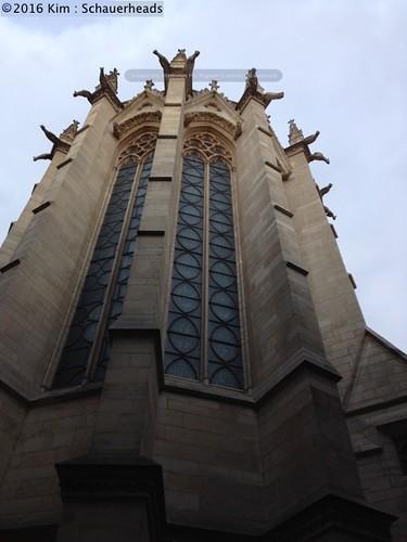 Alan phone Sainte Chapelle