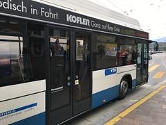 VBL Trolleybus #205 in Lucerne, Switzerland (Reto Kurmann) Tags: 205 luzern swisstrolley hess