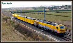 Ferrovial (Álvaro García Moreno) Tags: ferrovial herbicida 335 piolina tren villanuevadeg