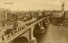 1905 London (Steenvoorde Leen - 2.3 ml views) Tags: londen london 1905 ansichtkaart postkaart postcards postkarte karte card londonbridge great britain gb england