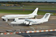 G-RAJJ BAe 146 G-MISG Boeing 737-300 Cello EGBB 16/10/16 (David K- IOM Pics) Tags: clj cello aviation british aerospace bae 146 146200 boeing 737 737300 b733 egbb bhx birmingham elmdon airport grajj gmisg b462 britishaerospace