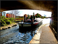 Leeds ,Liverpool canal 200 year celebration (exacta2a) Tags: liverpoolmerseyside vauxhall barges bridges canals