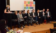 Paneldebatt (FN-sambandet) Tags: utdanning utdanningsforbundet arbeiderpartiet fremskrittspartiet hyre henrik asheim skolelederforbundet