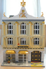Bank (Sandman_DK) Tags: lego modular building bank architecture arkitektur