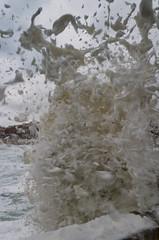 sea storm (Marco Brunetti) Tags: ortigia syracuse sicily pentaxk30 vawes hdpentaxda1685 sea seascape