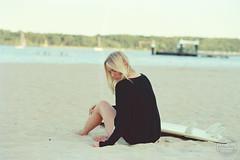 beach (Analog Pictures) Tags: beachwear film analoghotography beach nikon f4 sensual ostsee balticsea ishootfilm nikonf4 beauty kodakportra160 35mm analog filmisnotdead meersucht beautiful