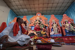 Durga Puja     (Oronno Anam Photography) Tags: durga puja festival hindu bangladesh bangladeshi dakeshawri tample